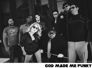 Publicity shot of God Made Me Funky from their website. Photo credit: Arthur Mola