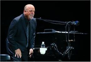 Billy Joel, Toronto, March 9, 2014. Photo credit - someone who posted on Twitter.
